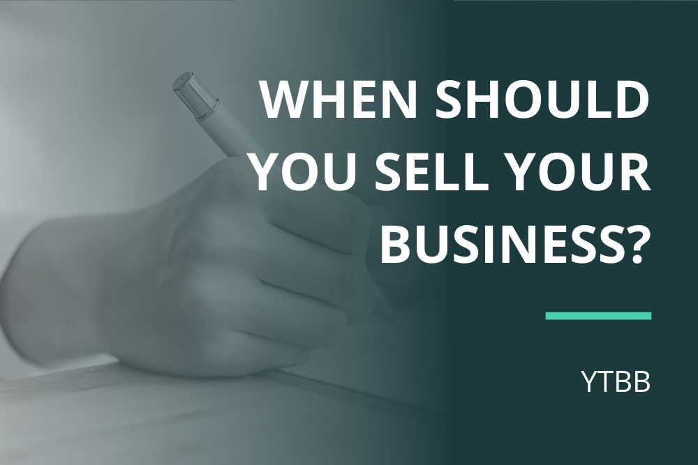 when should you sell your business